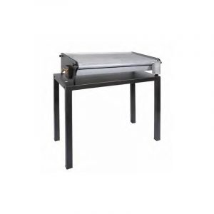 Barbecue nero pietra lavica 60 cm